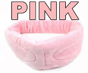Paul Santisi Headphones & Eye Mask Bluetooth EMF PROTECTION PINK