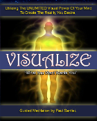 "Guided Meditation ""VISUALIZE"" High Quality .MP3 Download"