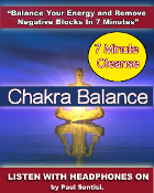 "7 Minute Chakra Cleanse ""High Quality .Mp3"" Fast & Effective"