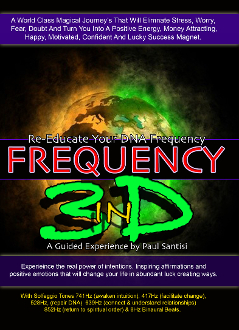 "2 CD SET Guided Meditation ""FREQUENCY"" In 3D Sound Mind Blowing"