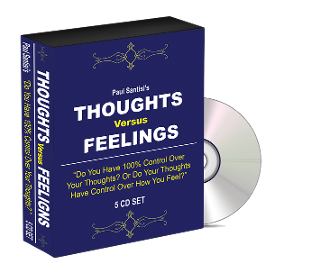 5CD Set Thoughts vs Feelings Audio Course PHYSICAL CD SET