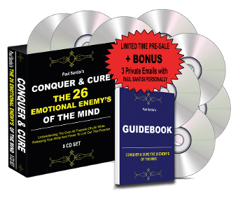 HIDDEN SPEC 8CD CONQUER & CURE 26 ENEMY'S OF THE MIND&GUIDEBOOK