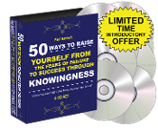 NEW 8 CD 50 WAYS TO RAISE YOURSELF FROM FEARS TO SUCCESS FAST