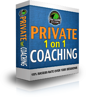 3 Sessions LIVE PERSONAL COACHING WITH PAUL SANTISI Phone/SKYPE