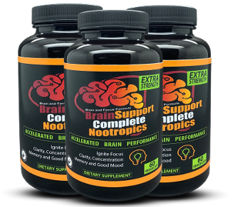 Buy 2 GET 1 FREE Brain Support Complete Nootropics + AUDIO +