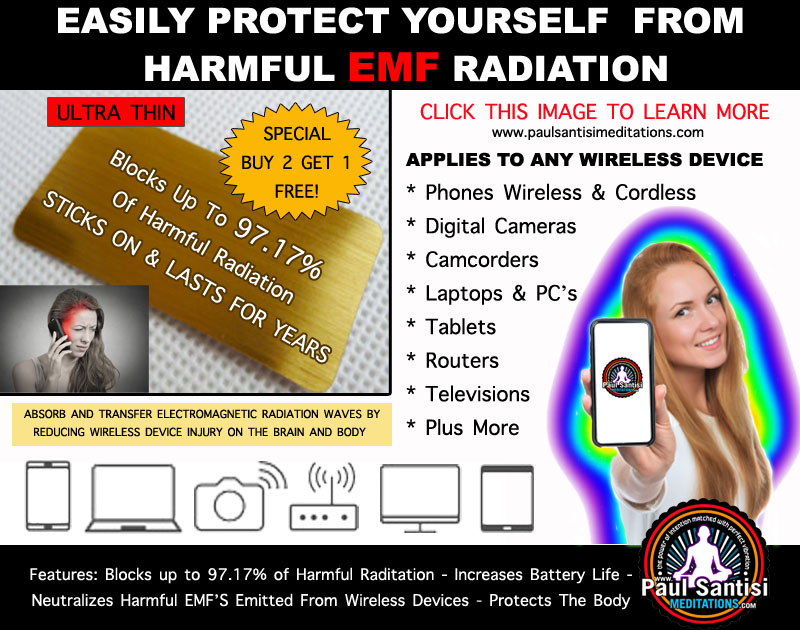 EMF Protection From All Wireless Devices SINGLE FREE Shipping